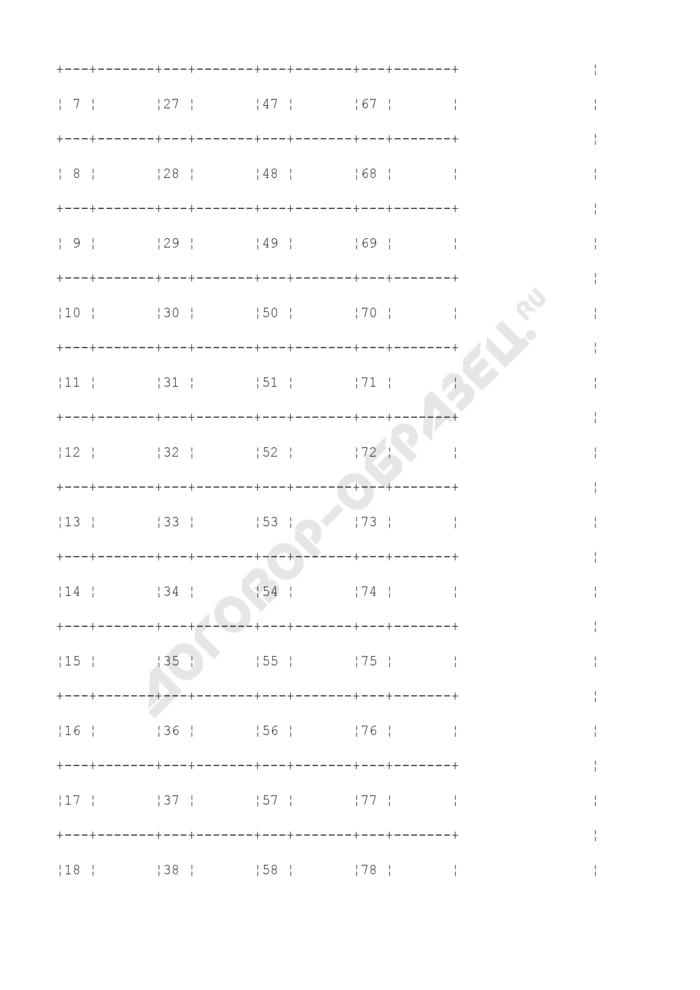 Акт осмотра (обмера) штабеля круглых лесоматериалов (образец). Страница 3