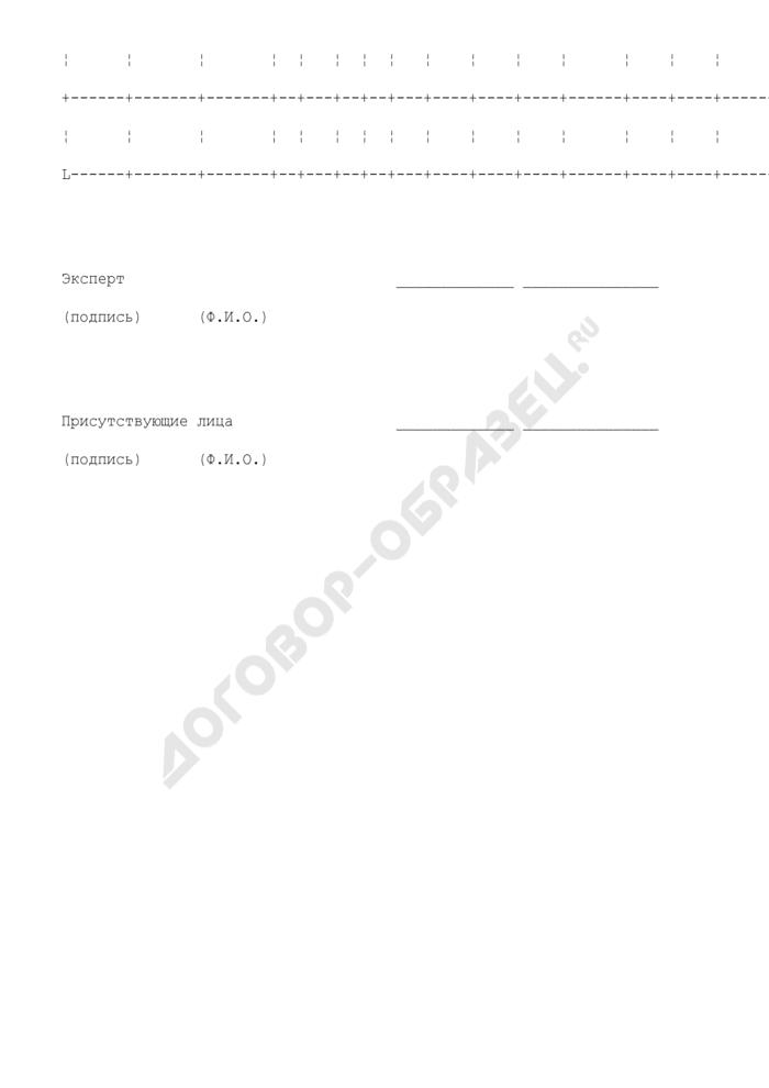 Акт осмотра продукции лесопильного производства и определения качества (сорта) (образец). Страница 3