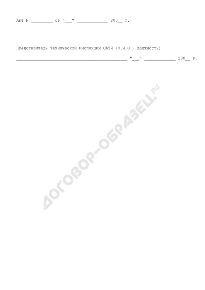 Акт предаварийного ремонта инженерных коммуникаций на территории города Москвы. Страница 3