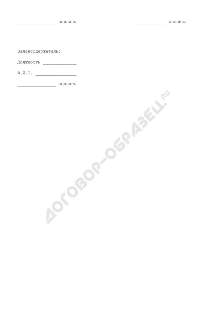 Акт приема-передачи в аренду нежилого помещения, расположенного на территории г. Пущино Московской области. Страница 3