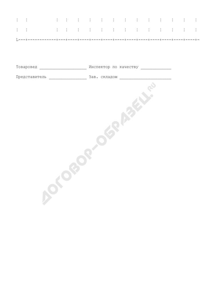 Акт контрольной (выборочной) проверки качества битой птицы. Специализированная форма N 23-ОТ. Страница 3