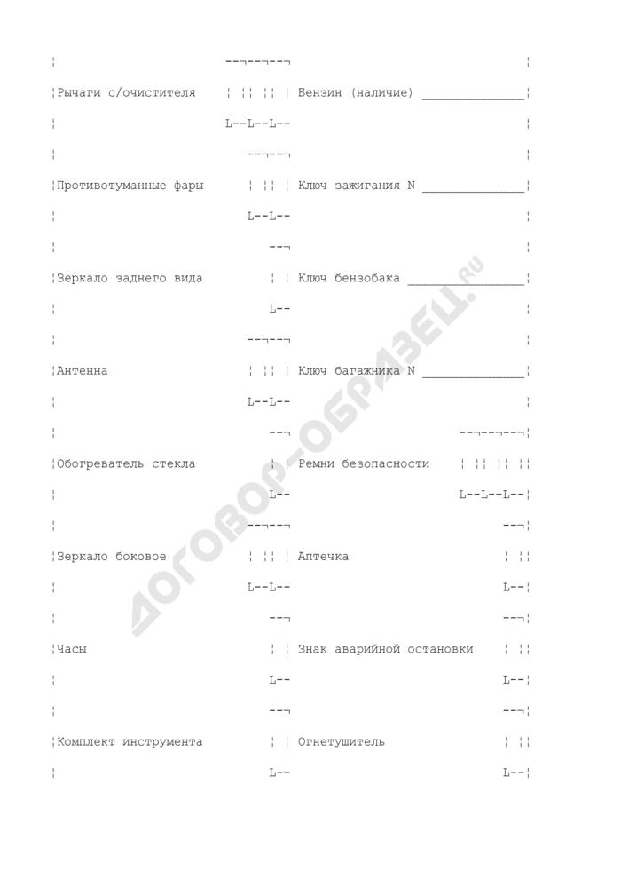 Приемо-сдаточный акт к заказ-наряду на техническое обслуживание и ремонт автотранспортного средства (рекомендуемая форма). Страница 2