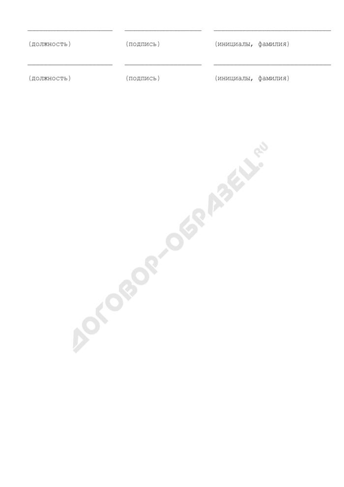 Акт о невозможности ознакомления гражданского служащего с приказом о проведении в отношении него служебной проверки (отказ от ознакомления, отсутствие на службе). Страница 3