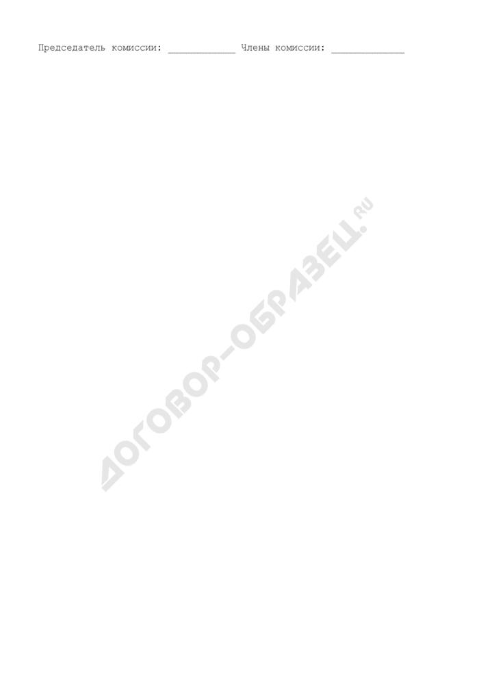 Акт о пересчете кондитерских изделий. Специализированная форма N 8-ОН. Страница 3