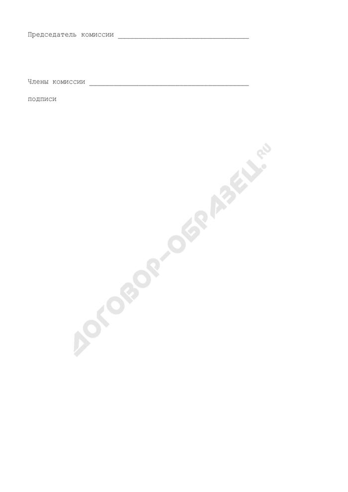 Акт о списании и уничтожении бланков именных разовых лицензий и документов по их движению. Страница 3