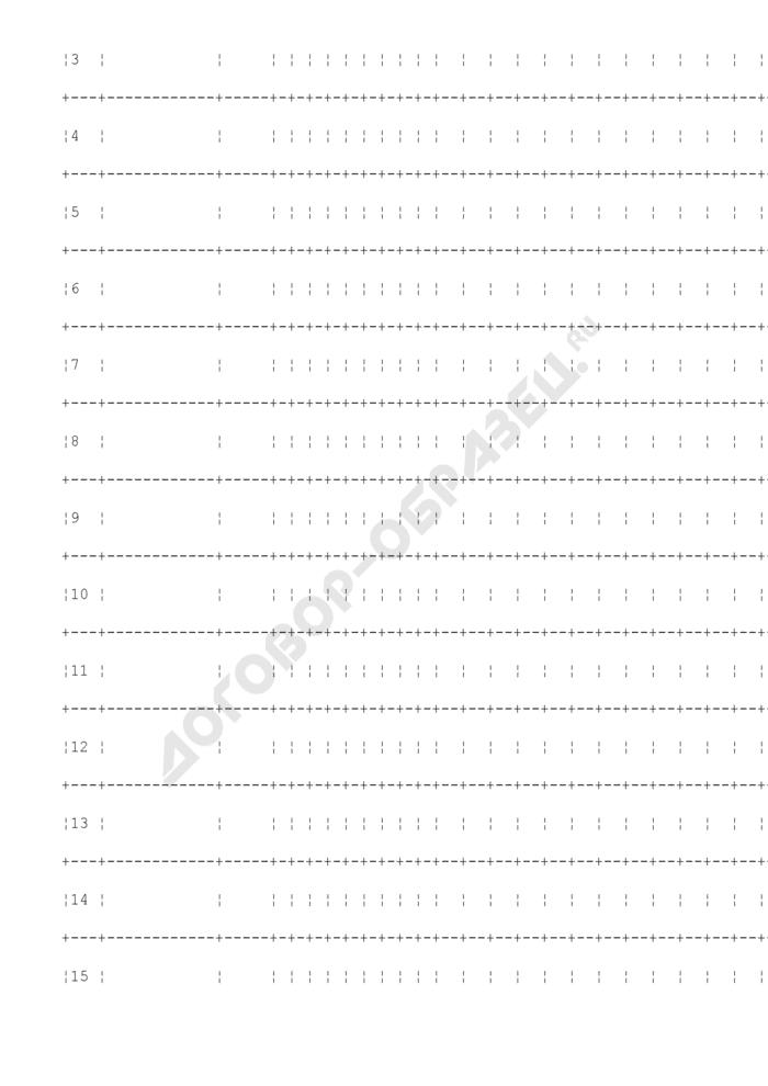 График последовательности прохождения учебных дисциплин учебного центра (учебного пункта) территориального органа уголовно-исполнительной системы. Страница 2