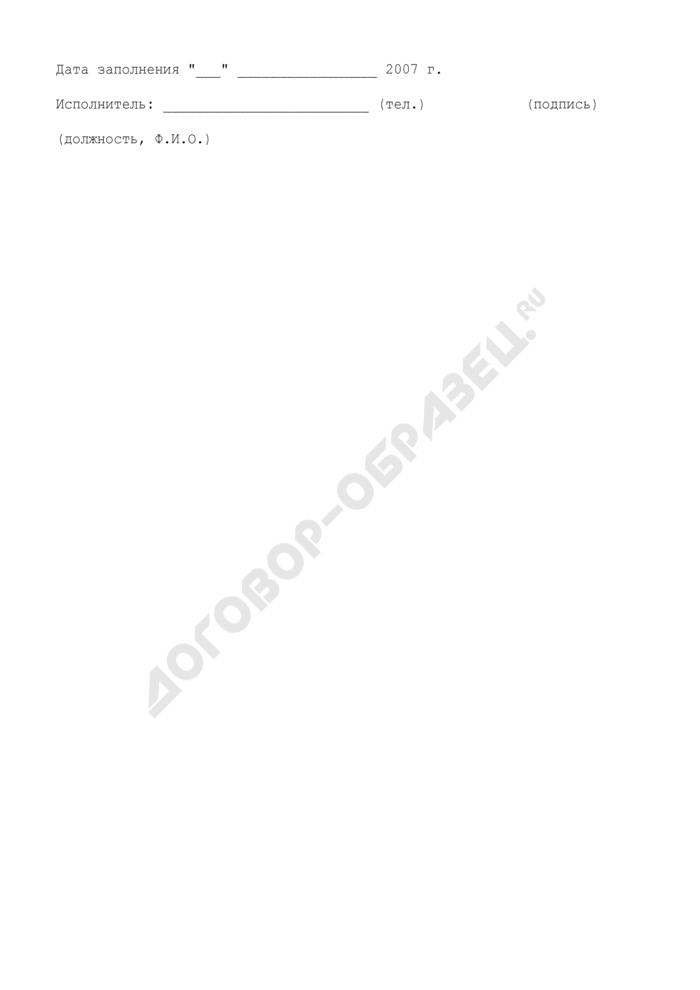 Информация о результатах проверок и принимаемых мерах по устранению выявленных нарушений при проведении работ по приспособлению для инвалидов объектов городской инфраструктуры территориального (отраслевого) органа исполнительной власти города Москвы. Форма N 2. Страница 2