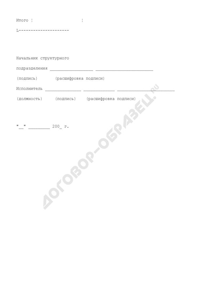 Извещение по зачтенным таможенным и иным платежам. Страница 3