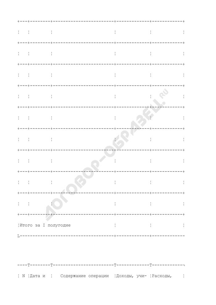 Книга учета доходов и расходов индивидуальных предпринимателей, применяющих систему налогообложения для сельскохозяйственных товаропроизводителей (единый сельскохозяйственный налог). Страница 3