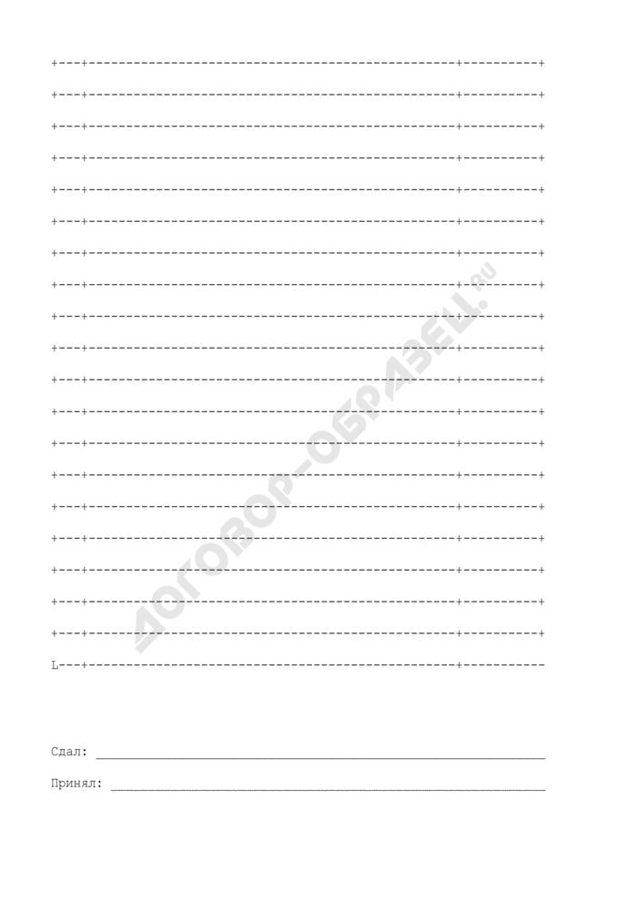 Опись документов, необходимых для переоформления лицензии. Страница 2