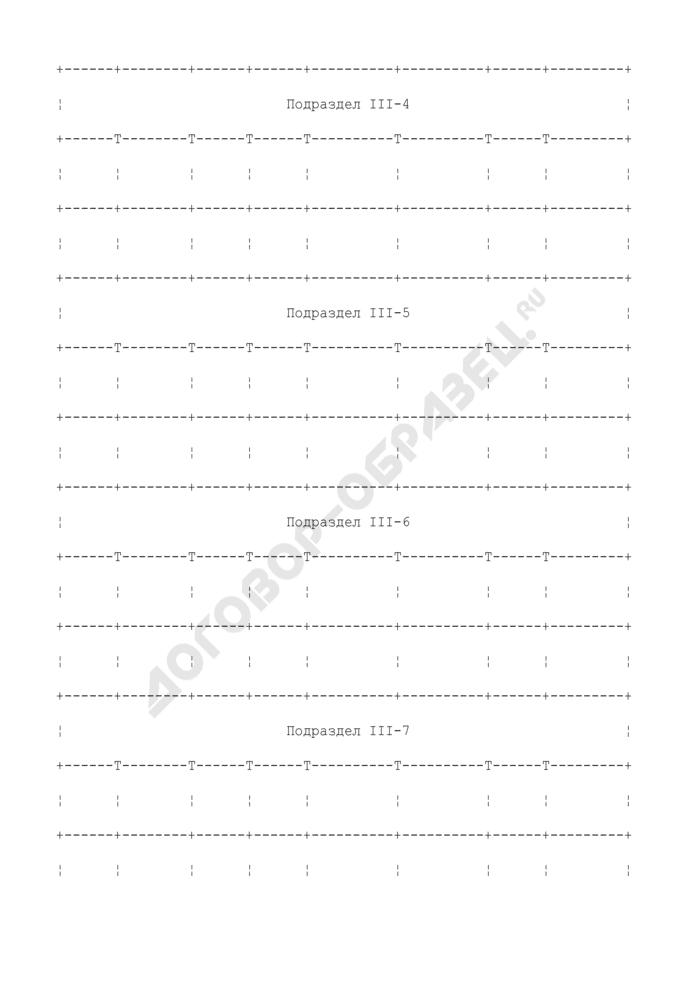 Опись раздела Единого государственного реестра прав на недвижимое имущество. Страница 3