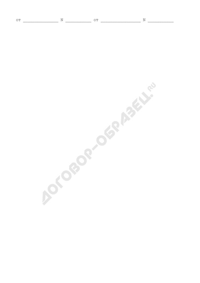 Опись дел постоянного хранения в аппарате Центральной избирательной комиссии Российской Федерации. Страница 3