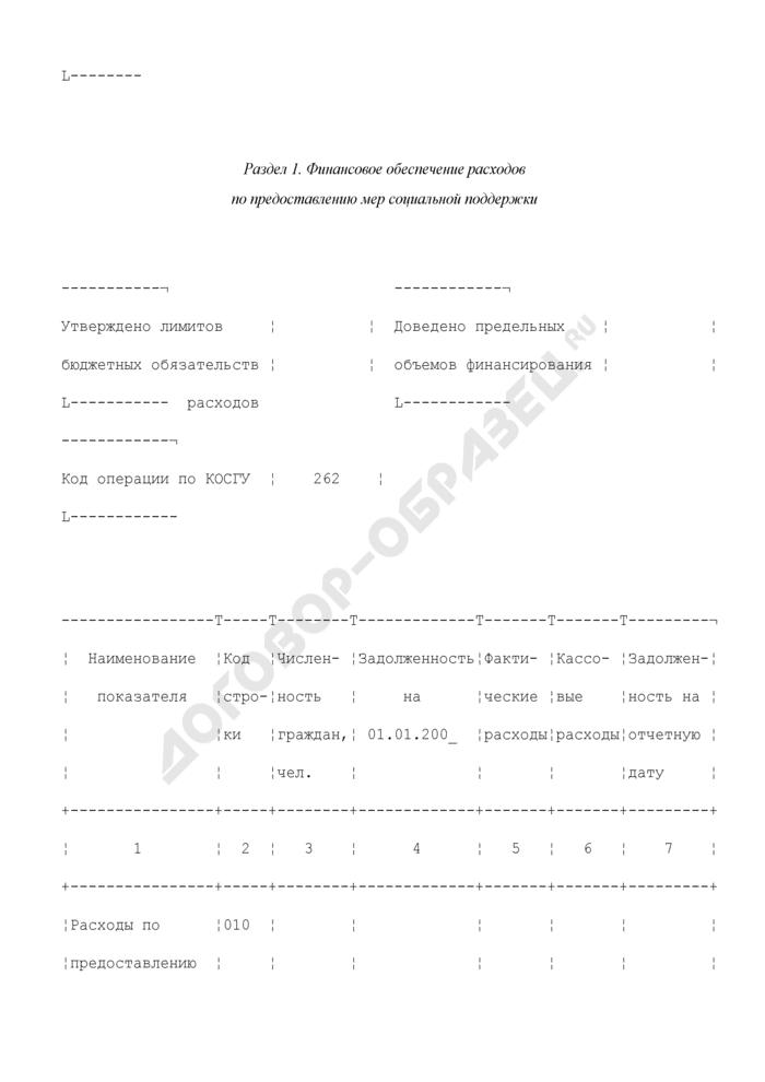 Отчет о финансировании расходов, связанных с реализацией нормативного акта. Форма N 2-РА. Страница 2