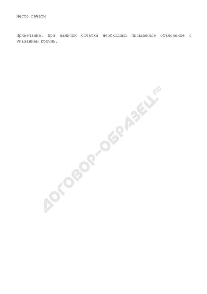 Сводный отчет о расходовании средств, выделенных Министерством образования Московской области, на финансирование расходов, связанных с компенсацией проезда к месту учебы и обратно отдельным категориям обучающихся. Страница 2