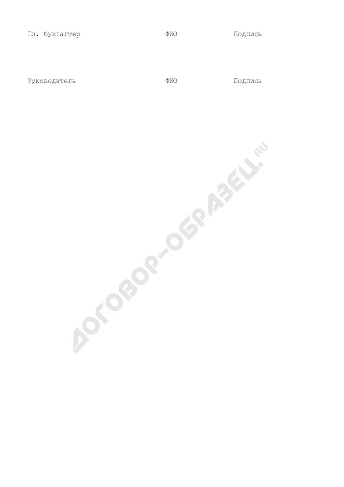 Форма отчета о расходах бюджета субъекта Российской Федерации и/или местных бюджетов, источником финансового обеспечения которых являются субсидии. Страница 2
