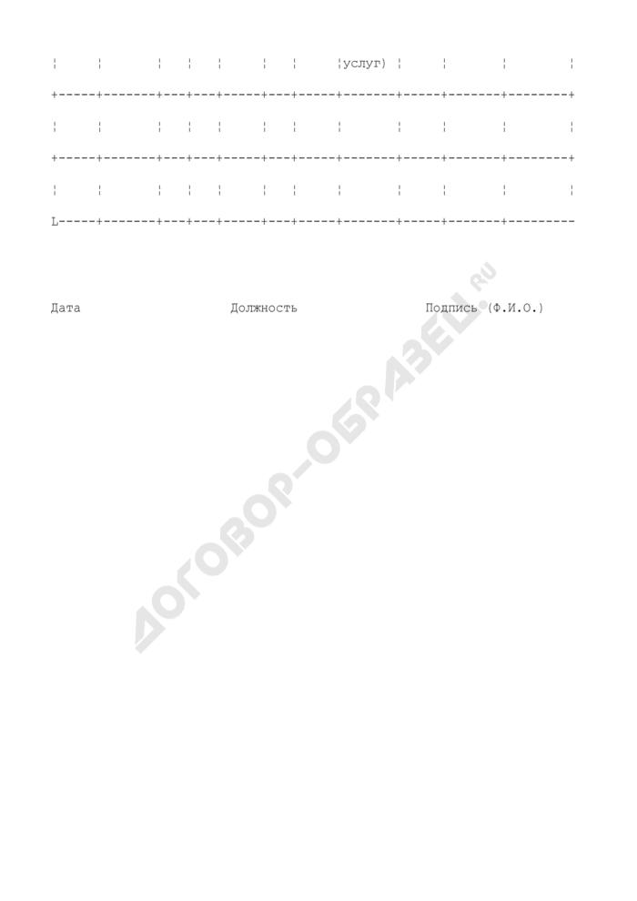 Отчет о выполнении офсетных обязательств. Форма N С-5. Страница 2