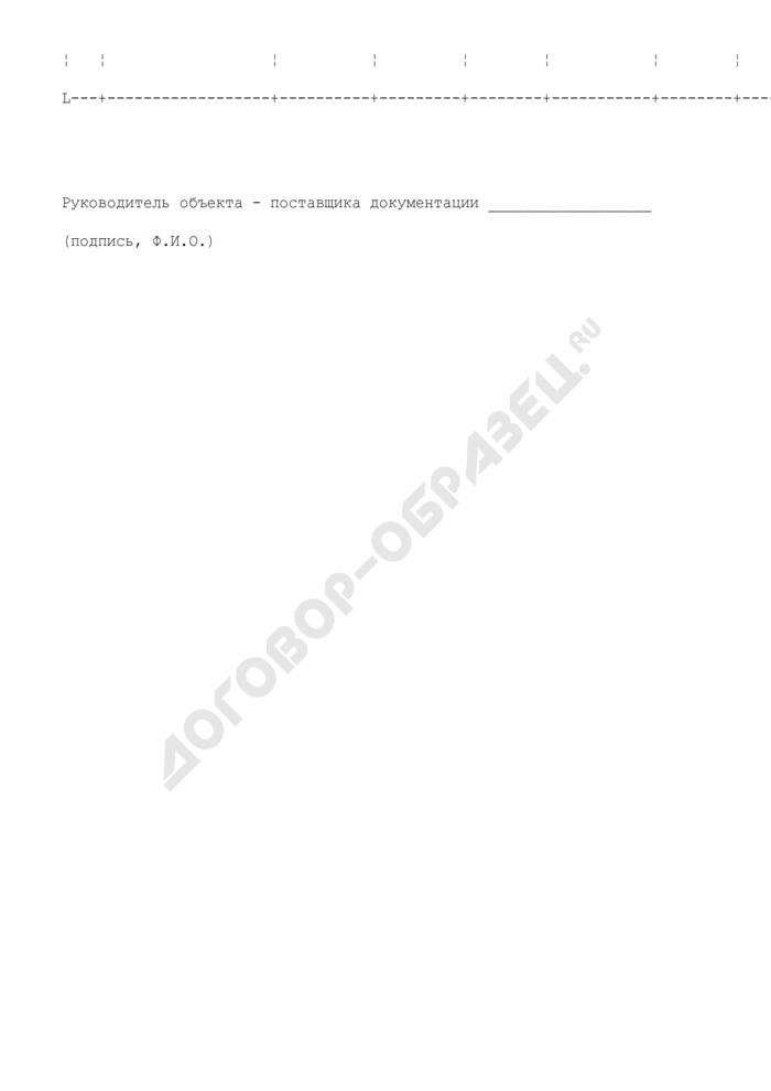 Отчет о выполнении плана представления документации на микрофильмирование и ходе микрофильмирования для создания страхового фонда документации г. Москвы. Страница 3