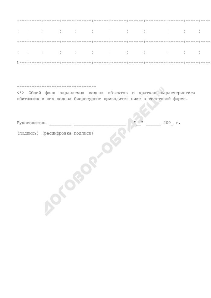 Ежеквартальный отчет органов государственной власти субъекта Российской Федерации о проведенных рыбоохранных мероприятиях. Страница 3