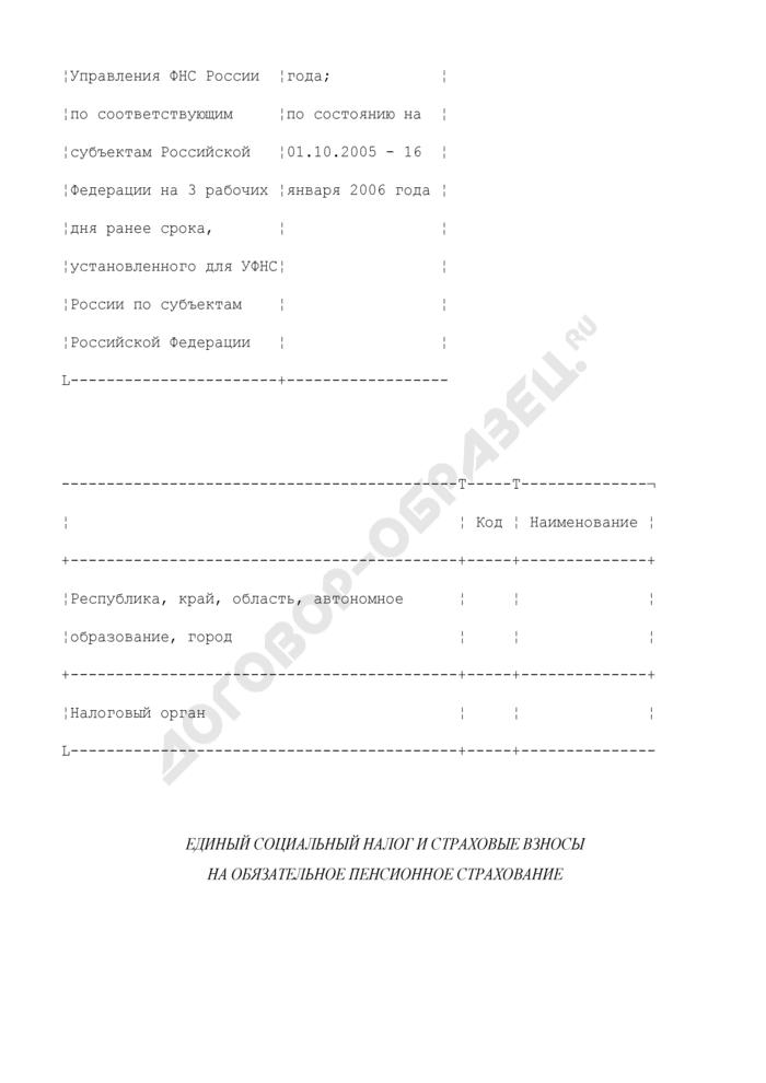 Отчет о налоговой базе и структуре начислений по единому социальному налогу и страховым взносам на обязательное пенсионное страхование. Форма N 5-ЕСН. Страница 2