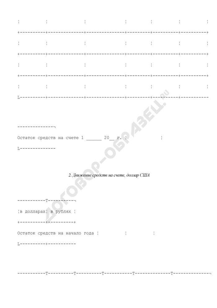 Отчет о поступлении и использовании средств стабилизационного фонда Российской Федерации. Страница 3