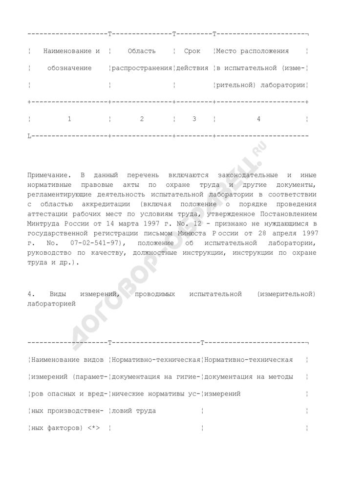 Паспорт состава и квалификации работников испытательной лаборатории. Страница 3