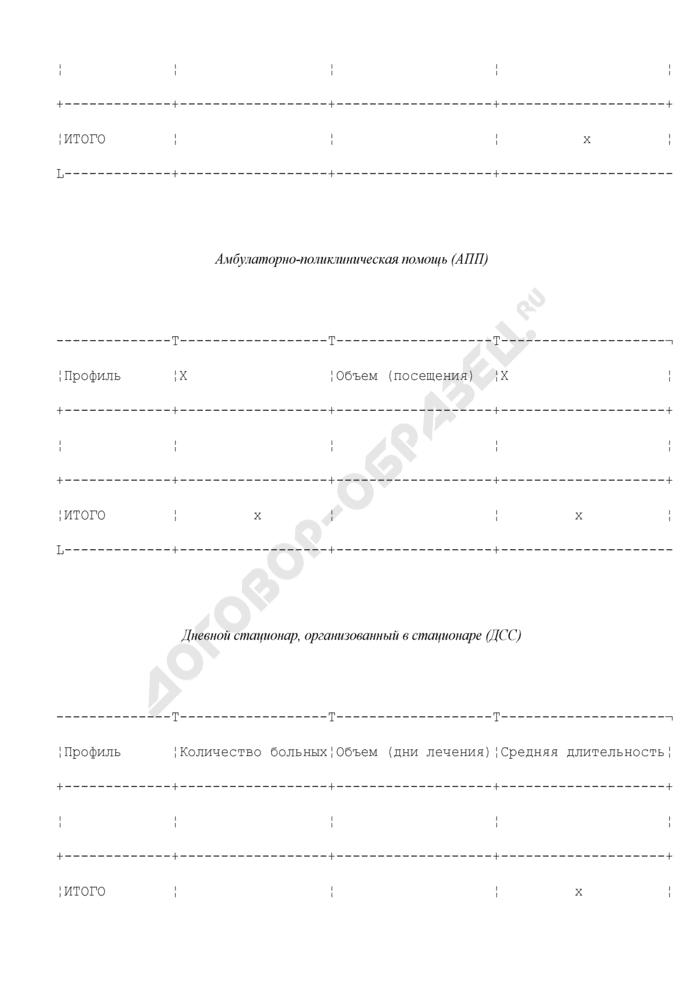 План-задание медицинского учреждения Московской области. Страница 2