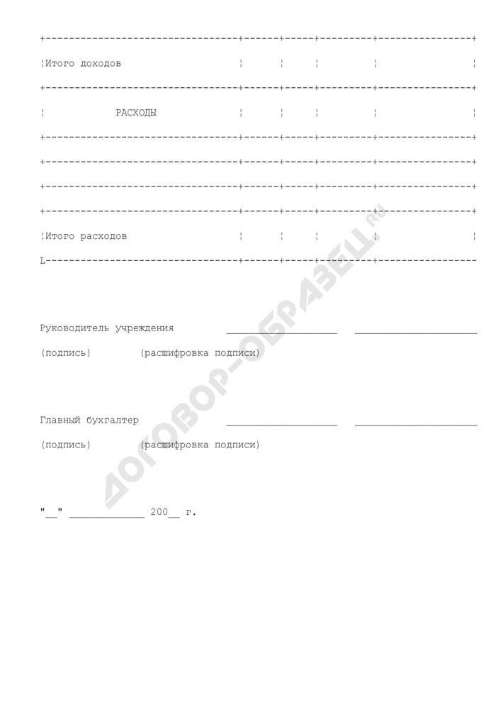 Изменение показателей сметы доходов и расходов учреждения, находящегося в ведении Министерства экономического развития Российской Федерации. Страница 3