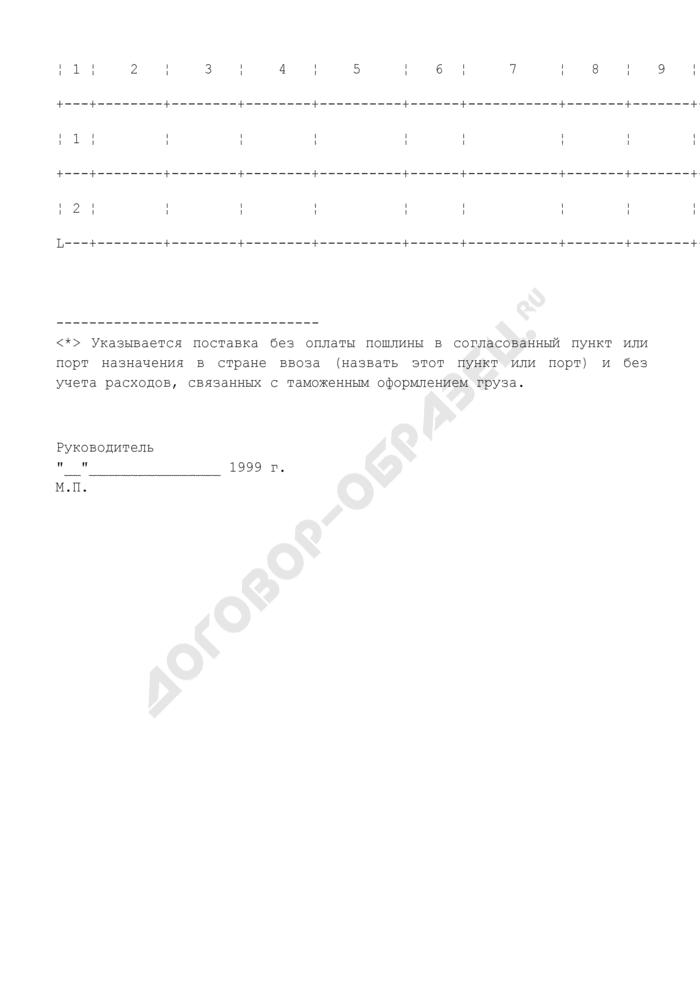 Предложение по цене лекарственного средства зарубежного производства, предоставляемого на государственную регистрацию (перерегистрацию). Страница 2