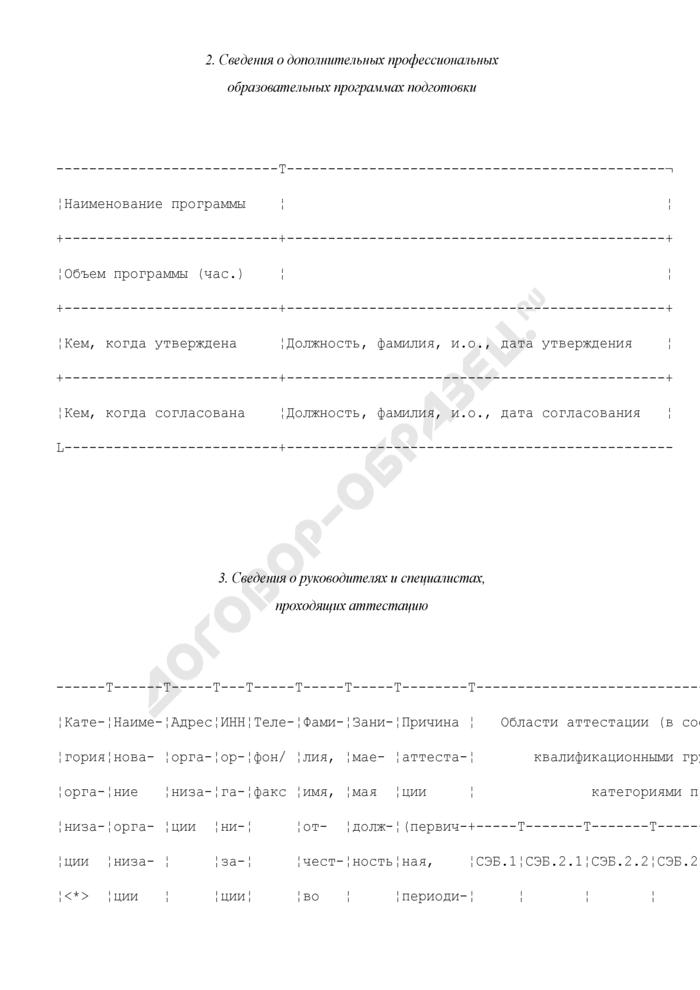 Протокол квалификационного испытания (тестового контроля знаний) специалистов в области обеспечения экологической безопасности. Страница 2