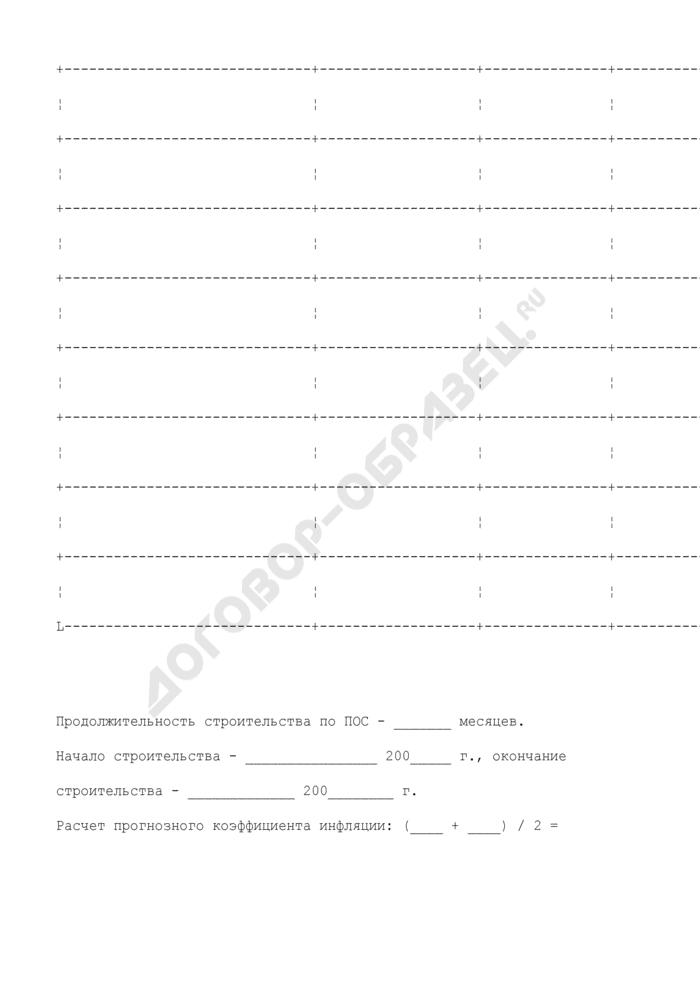 Протокол начальной цены государственного контракта на строительную продукцию (типовая форма). Страница 3