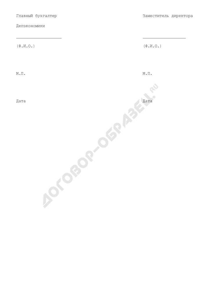 Расчет аванса причитающегося агенту комиссионного вознаграждения за организацию хранения запасов интервенционного фонда. Страница 3