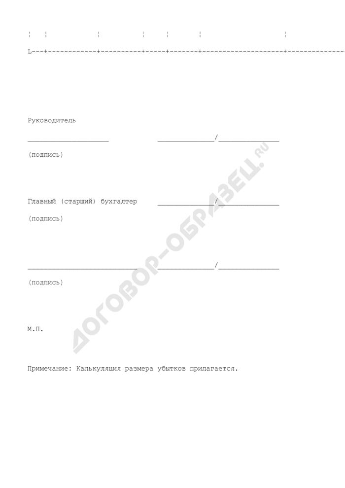 Расчет стоимости некачественной, некомплектной продукции (товаров), штрафа и убытков. Страница 2