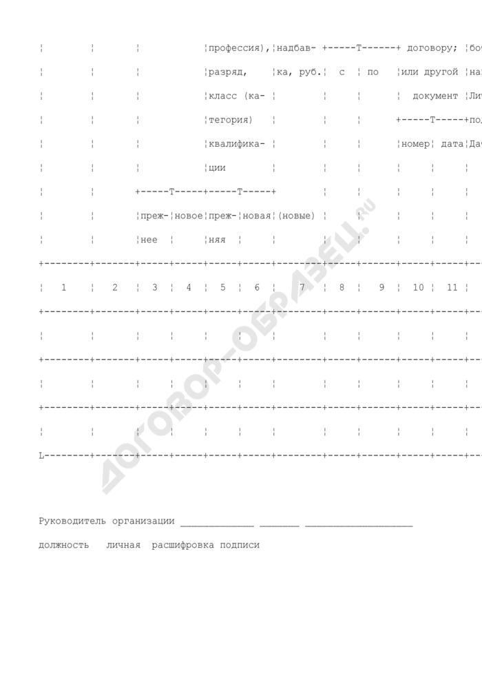 Приказ (распоряжение) о переводе работников на другую работу. Унифицированная форма N Т-5А. Страница 2