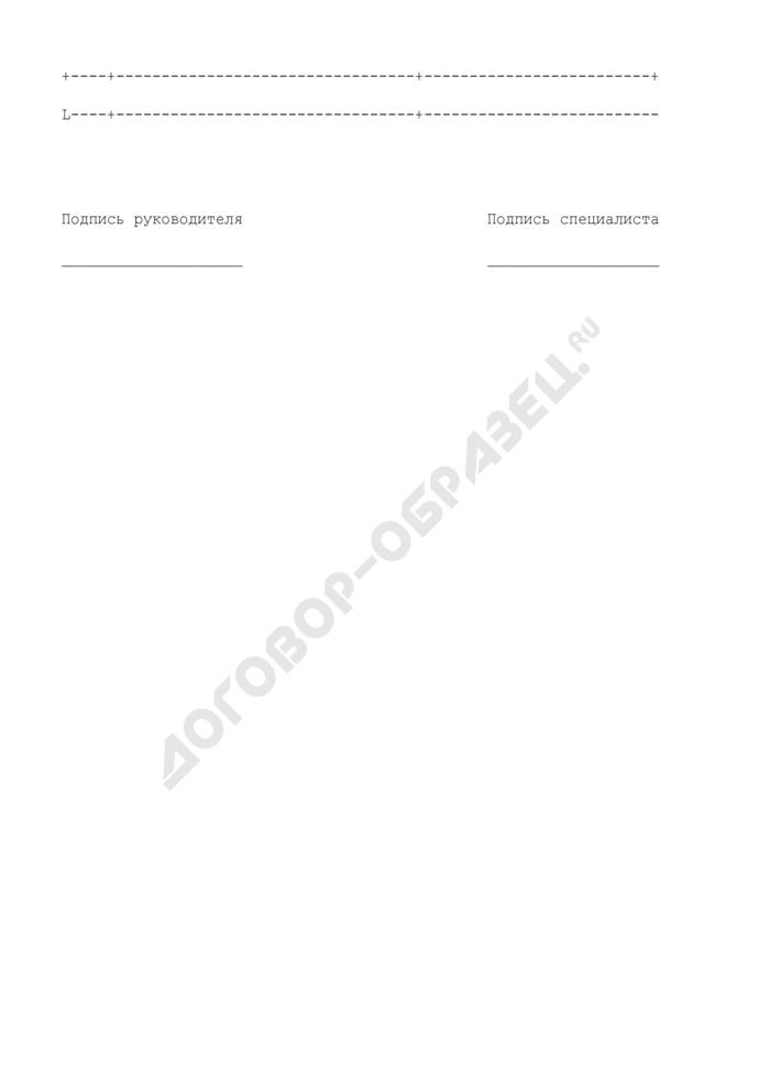 Квалификационная карточка эксперта для проверки опасных производственных объектов, объектов электроэнергетики и строительства. Страница 3