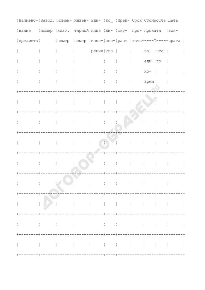 Копия обязательства-квитанции. Типовая форма N БО-6. Страница 3