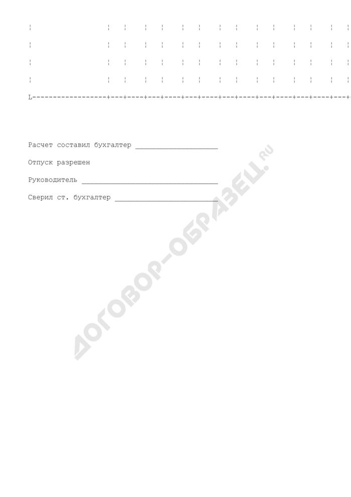 Наряд-заказ на изготовление кондитерских и других изделий. Специализированная форма N 19-ОПит. Страница 3