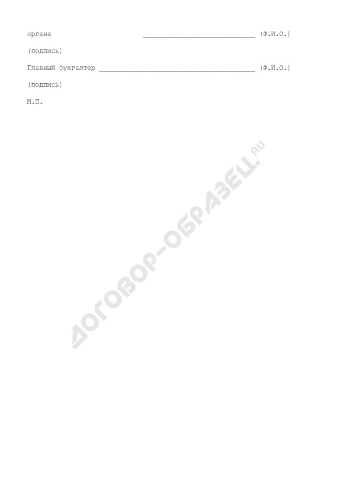 Образцы подписей сотрудников финансового органа, уполномоченных подписывать денежные чеки получателей средств бюджета города Москвы. Страница 2