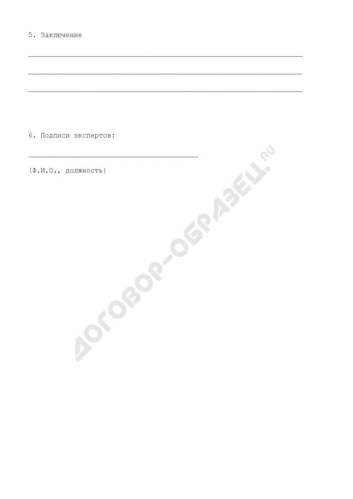Программа инспекционной(го) проверки (контроля) объекта единой системы организации воздушного движения (образец). Страница 3