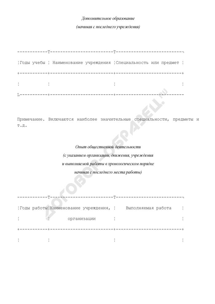 Резюме участника Всероссийского конкурса лидеров ученического самоуправления. Страница 2