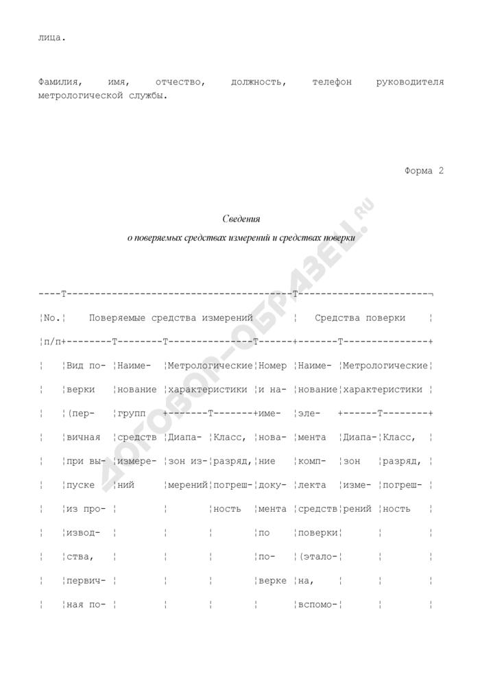 Руководство по качеству метрологической службы юридического лица (рекомендуемая форма). Страница 2