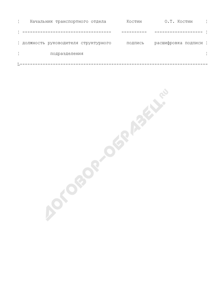 Докладная записка о совершении работником дисциплинарного проступка неисполнения трудовых обязанностей) (примерный образец). Страница 3