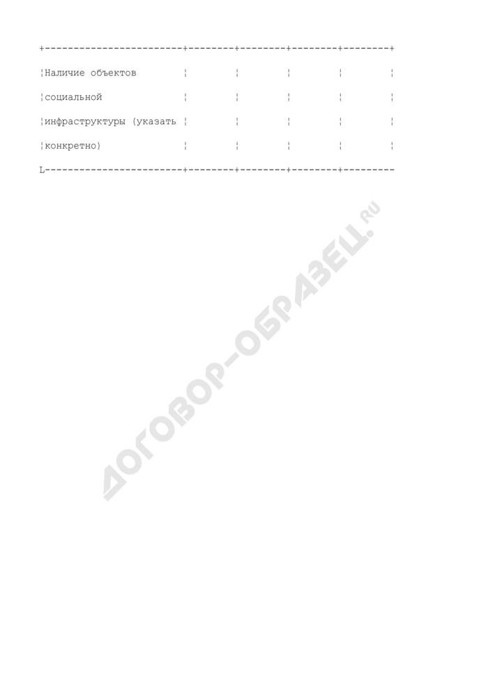 Социальные результаты и охрана труда строительной организации Московской области. Форма N 3. Страница 3
