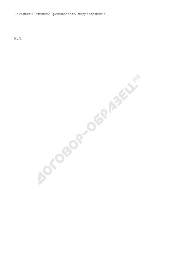 Структура контрактной цены (приложение к государственному контракту на создание и поставку научно-технической продукции (НТПр) для государственных нужд). Страница 3