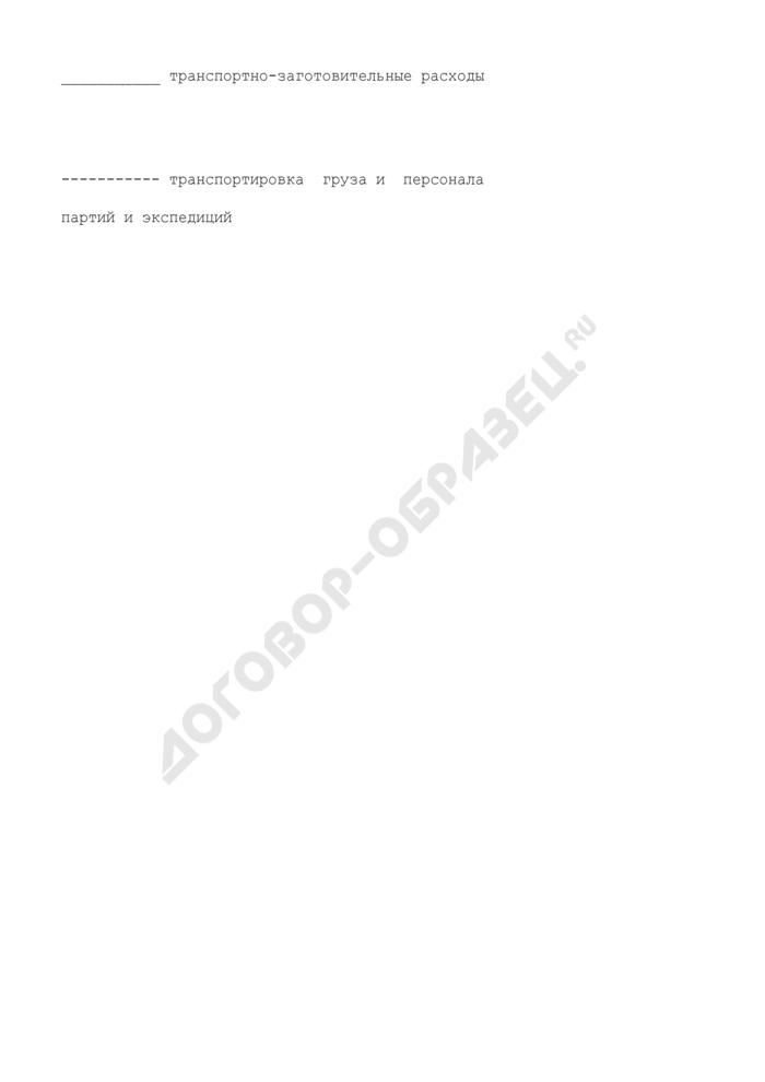 Схема определения затрат на доставку грузов по видам транспортно-заготовительных расходов. Страница 2
