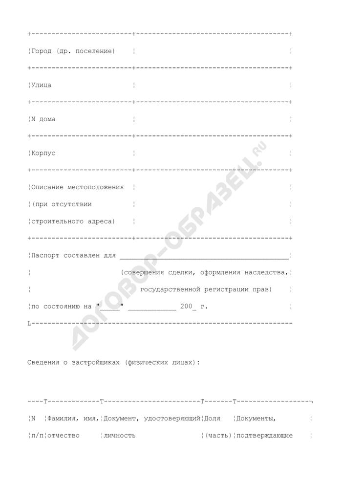 Техническое описание объекта незавершенного строительства. Страница 2