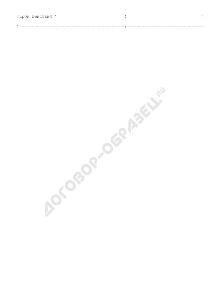 Форма отчетность застройщика об осуществлении деятельности, связанной с привлечением денежных средств участников долевого строительства на территории Московской области. Страница 2