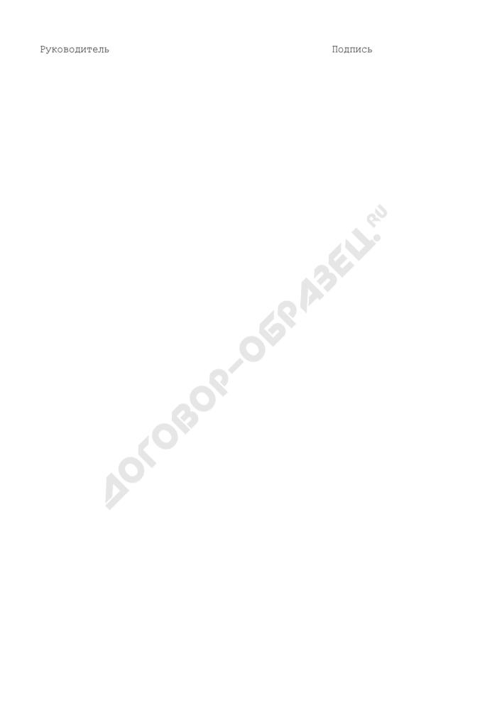 Форма оценки результатов реализации долгосрочной целевой программы городского округа Рошаль Московской области. Страница 3