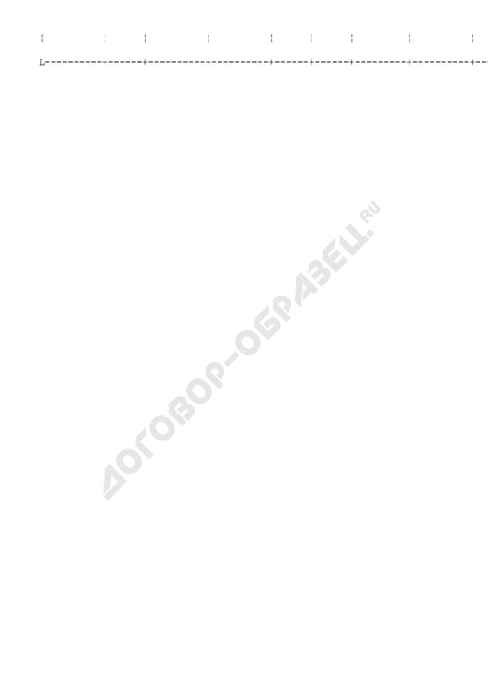 Заборно-контрольный лист на бланки строгой отчетности (пример). Страница 2