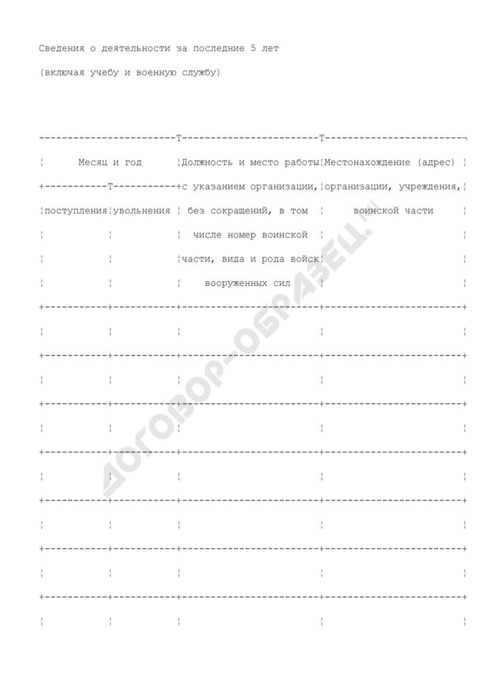 Ходатайство о выдаче приглашения на въезд в Российскую Федерацию (приглашающая сторона - физическое лицо). Страница 3