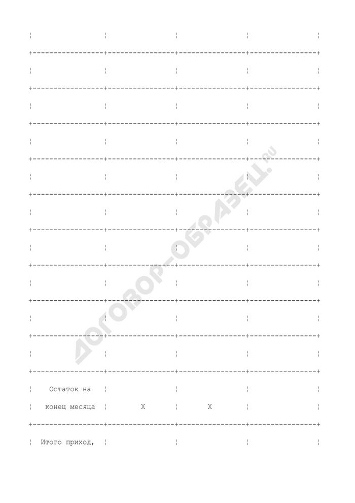 Штафель к внебалансовому счету N 90903. Страница 2